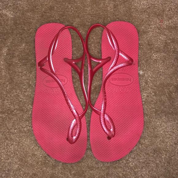 fb741180ff166 Havaianas Womens Luna Sandal Flip Flop Euc
